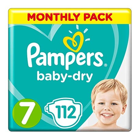 Pampers Baby-Dry 7 (15+kg) 112vnt.