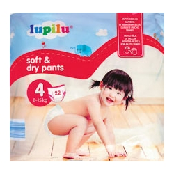 Lupilu Pants 4 (8-15kg) 22vnt.