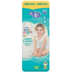 Little Angel Comfort & Protect 6+ (20+Kg) 46vnt.