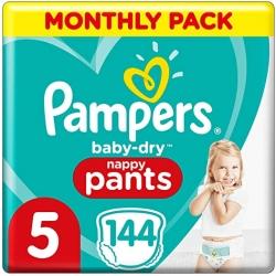 Pampers Pants 5 (12-17kg) 144vnt.