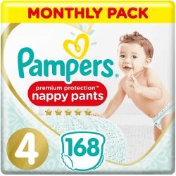 Pampers Pants 4 Premium Protection (9-15kg) 168vnt.