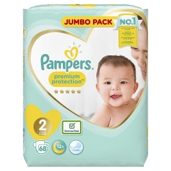 Pampers Premium Protection 2 (4-8kg) 68vnt.