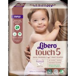 Libero Touch Pants 5 (10-14Kg) 18vnt.
