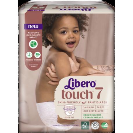 Libero Touch Pants 7 (16-26Kg) 14vnt.