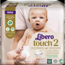 Libero Touch 2 (3-6Kg) 32vnt.