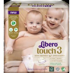 Libero Touch 3 (4-8Kg) 28vnt.